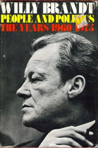 People and politics: The years 1960-1975