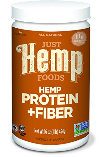Just Hemp, Hemp Protein plus Fiber, 16 ounce (Hemp Protein Plus Fiber)