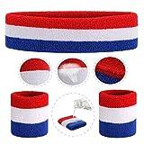 ONUPGO Sweatband Set Premium Sports Headband