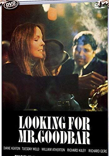 Richard Gere in Looking for Mr. Goodbar DVD movie Diane Keaton Tuesday Weld (Looking Movie Mr Dvd For Goodbar)