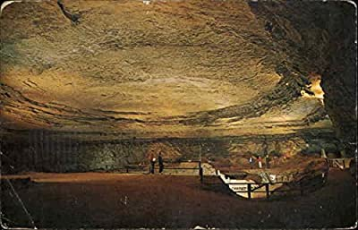 The Rotunda in Mammoth Cave Mammoth Cave National Park, Kentucky Original Vintage Postcard