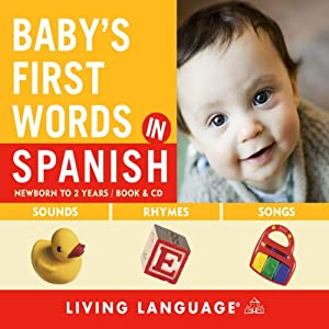 Baby's First Words in Spanish Audiobook