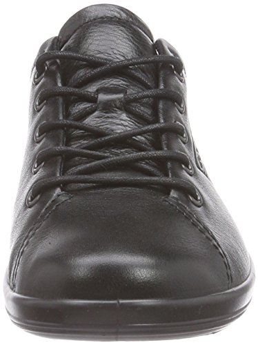 Womens Black 2 0 Shoes Leather 38 Ecco EU Soft PA6a6w