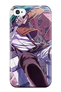 ZippyDoritEduard Scratch-free Phone Case For Iphone 4/4s- Retail Packaging - Attack On Titan