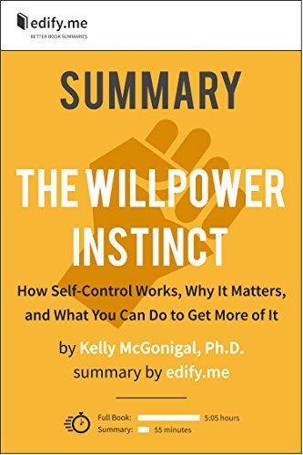 Amazon summary of the willpower instinct by kelly mcgonigal summary of the willpower instinct by kelly mcgonigal phd 2 fandeluxe Gallery