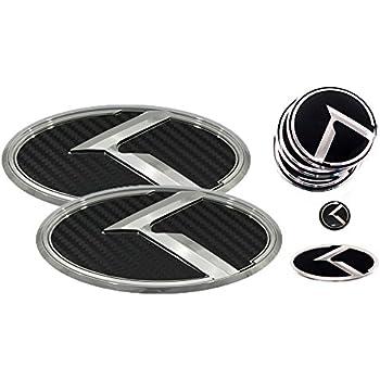 LODEN NEW VINTAGE K Steering Wheel Emblem Badge Overlay FOR KIA TELLURIDE