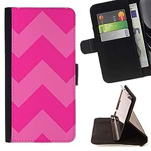 Momo Phone Case / Flip Funda de Cuero Case Cover - Rose Violet Summer Motif texte - Samsung Galaxy S5 Mini, SM-G800