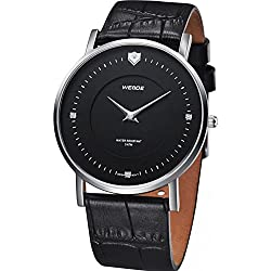 HOTLOVE Weide Men Quartz Wristwatches Analog Round Smart Fashion Watch