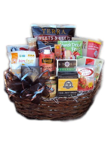 Get Well Immune System Boosting Healthy Gift Basket by Well Baskets by Well Baskets
