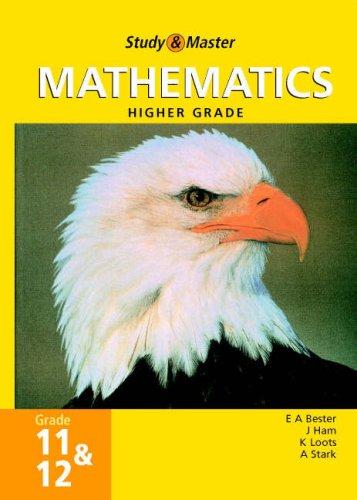 Study and Master Mathematics Grade 11 and 12 Hg (Study & Master