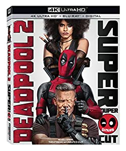 Cover Image for 'Deadpool 2 [Blu-ray + Digital]'