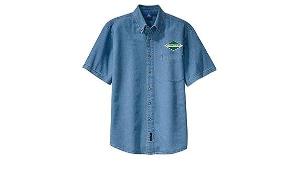 den26LS Alaska Railroad Long Sleeve Shirt Forest Green Adult 2XL