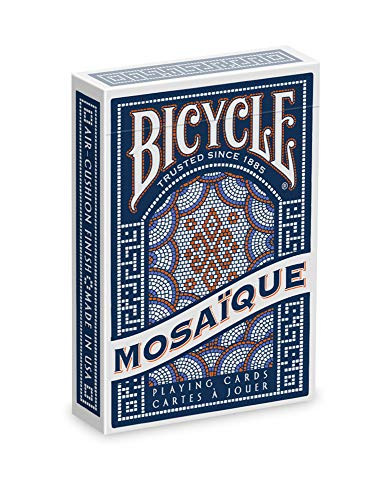 Learn More About Bicycle Mosaique Playing Cards