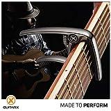 GUITARX X3 Capo for Acoustic Guitar, Electric