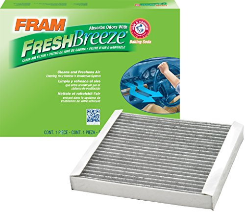 FRAM CF10370 Fresh Breeze Cabin Air Filter with Arm & Hammer