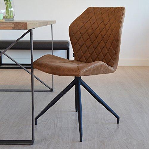 Design Esszimmerstühle damiware rocky esszimmerstühle 2er set design stuhl mit stoffbezug