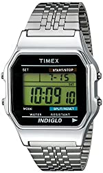 Timex Unisex TW2P48300AB Originals Digital Display Quartz Silver Watch