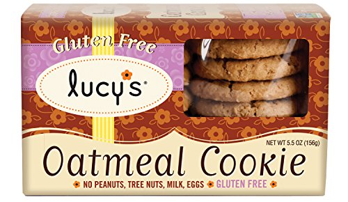 (Lucy's Oatmeal Cookies Gluten Free, 5.50-Ounce Boxes (Pack of 8))