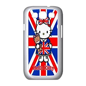 Steve-Brady Phone case Cute Cartoon Hello Kitty For Samsung Galaxy S3 Pattern-18