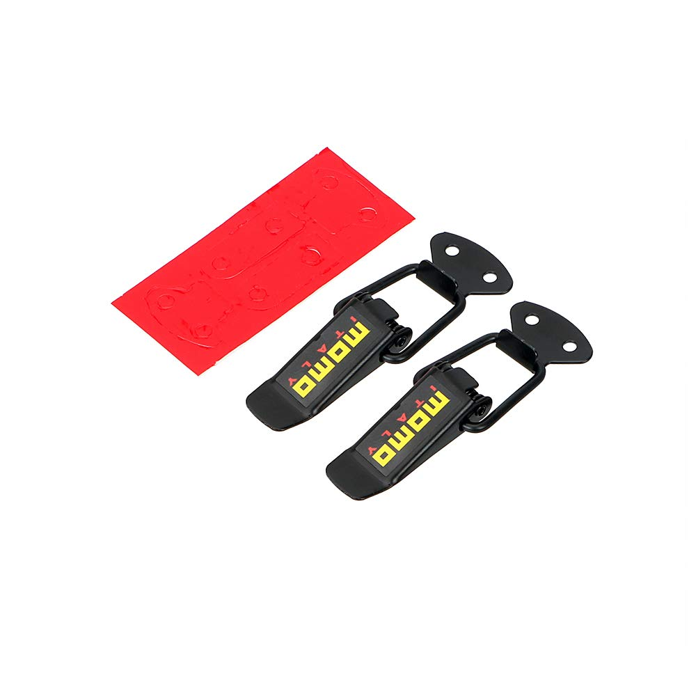 Clip de Fixation pour Pare-Chocs Crochets de s/écurit/é Moto Camion Lot de 2 Clips de Fixation Rapide pour Capot de Voiture
