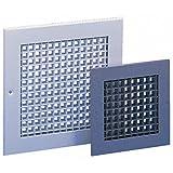 Slv aluminium eggcrate grille; 450x450mm