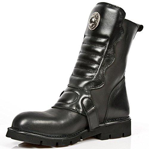 New Rock, Damen Stiefel & Stiefeletten  schwarz