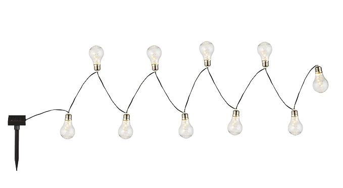 Led catena di luce a energia solare da giardino party lampada solare