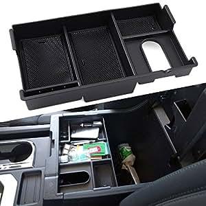 9 Moon Center Console Insert Organizer Tray Fit Toyota Tundra 2014 2017 Armrest