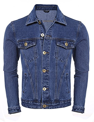Unlined Denim Jacket - 6