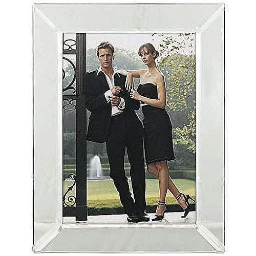 Malden Bevel Mirror Picture Frame, 5-Inch by7 -Inch (Malden Mirror Photo Frames)