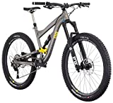Diamondback Bicycles Mission 2 Complete All Mountain Full Suspension Bicycle, Grey, 19″/Large