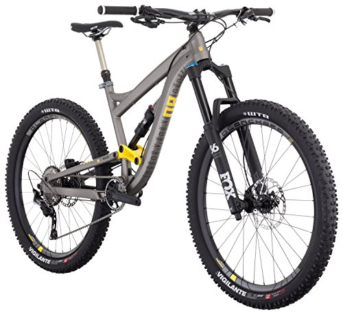 Mission Diamond (Diamondback Bicycles Mission 2 Complete All Mountain Full Suspension Bicycle, Grey, 17