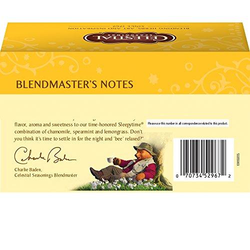 Celestial Seasonings Tea, Jammin' Lemon 20 Count