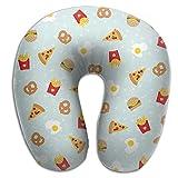 Scorpio Pretzel Food Lightweight Travel Pillow Spa U SHAPE For Neck People