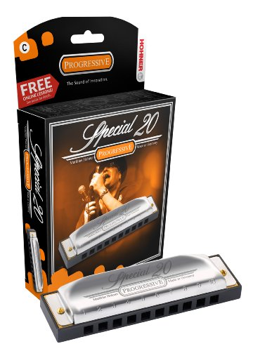 Hohner Special 20 Harmonica, Key Of High G Major