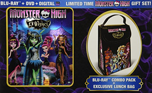 Monster High 13 Wishes- BLU-RAY COMBO PACK