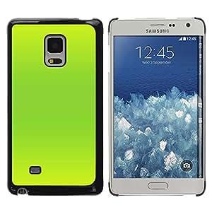 Be Good Phone Accessory // Dura Cáscara cubierta Protectora Caso Carcasa Funda de Protección para Samsung Galaxy Mega 5.8 9150 9152 // Vibrant Neon Green Color Bright