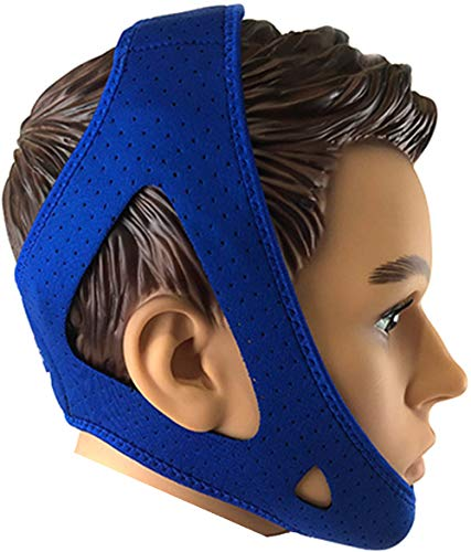 Anti Snore Chin Strap by Innovolved Concepts - Most Effective Snoring Solution - Best Snore Stopper Anti Snoring Devices - CPAP Chin Strap - Stop Snoring Aids - New 2019 Design