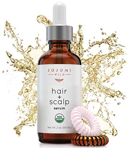 Jojumi Wild Organic Skin, Hair, Face, Scalp, Foot, Cuticle and Nail Care Treatment Serum with Argan, Castor, and Jojoba Oil (2 oz.)