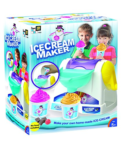 AMAV Toys Ice Cream Maker Machine Toy - Make Your Own Home Made Ice - Cream Multi Color - Homemade Ice Cream Ball