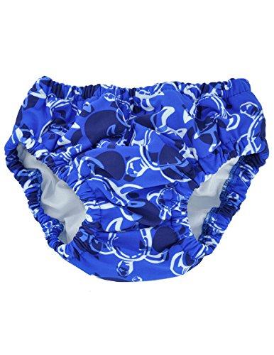 Tuga Boy's Reusable Swim Diapers 2-Pack, Tuga Sky Blue, 3T