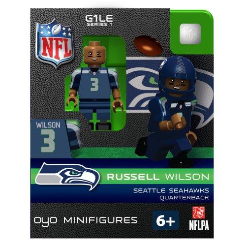 OYO NFL Seattle Seahawks Russell Wilson Figurine (Oyo Football Figures)