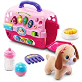 VTech Care for Me Learning Carrier, Pink (Frustration Free Packaging), Great Gift for Kids, Toddlers, Toy for Boys and Girls, Ages Infant, 1, 2, 3