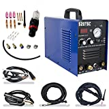 Tig/MMA Plasma Cutter Welding - Tosense 520TSC 3 in 1 Combo Multi-Function 50A Air Inverter Plasma Cutter 200A Tig/MMA Welder 110V/220V Dual Voltage