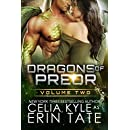 Dragons of Preor Volume Two (Scifi Alien Weredragon Romance Books 4-7)