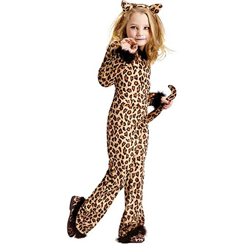Child Pretty Leopard Costume (Small 4-6)]()
