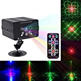 LED Head Moving Light,JHS-TECH Total 50W Rotating Moving Head DMX512 Sound Activated Master-slave Auto Running 11/13 Channels RGBW Color Changing Beam Light for Disco KTV Club Party
