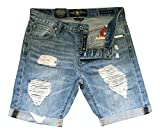 Lucky Brand Boyfriend Roll Up Distressed Shorts Size 2/26