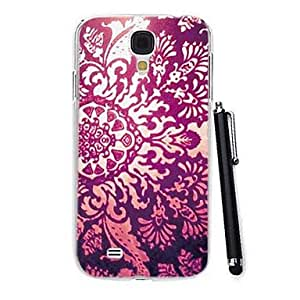 DUR Exquisite Hollow Decorative Pattern PC Hard Case with A Stylus Pen for Samsung Galaxy S4 I9500
