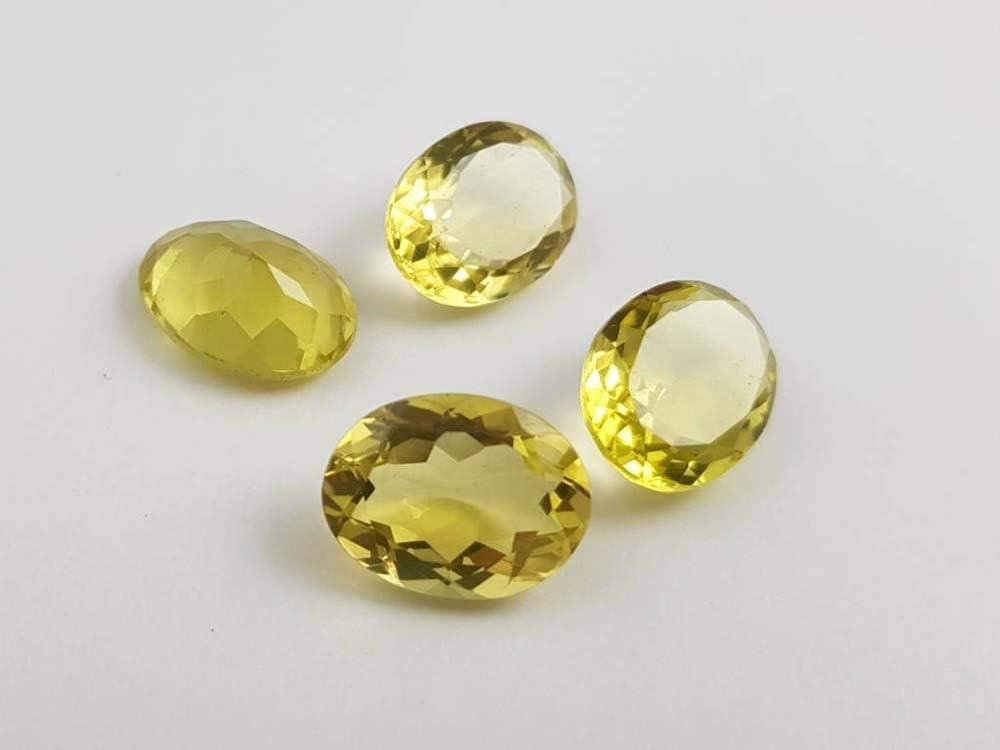 Details about  /Rarest Lot Natural Crystal Quartz 12X16 mm Oval Faceted Cut Loose Gemstone